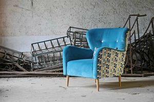 Vintage, 70s style armchair