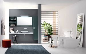 Byte 2.0 comp.05, Bathroom cabinet with shelves