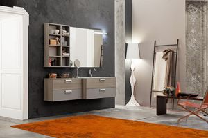 Byte 2.0 comp.06, Space saving bathroom cabinet with reduced depth