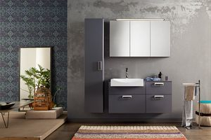 Byte 2.0 comp.09, Composition of bathroom furniture with column