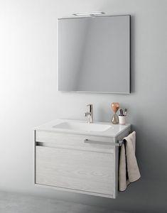 Duetto comp.05, Space-saving bathroom composition