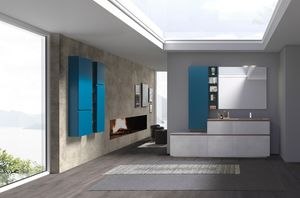 Lime 2.0 comp.22, Bathroom furniture with
