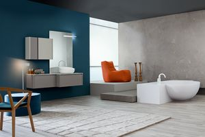 Tender comp.09, Bathroom cabinet, contemporary style