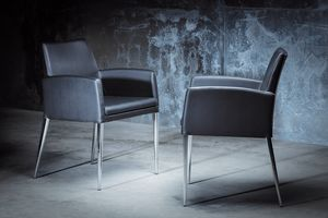 Picture of ART. 247/3 HOLLYWOOD ARMCHAIR, chairs with modern lines