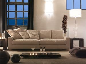 Celeste, Sofa available in different sizes, and modules