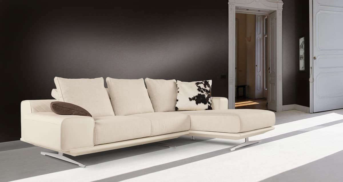 Fusion sofa, Sofa with peninsula, modern design