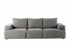 Indigo sofa, Sofa with  neck rolls cushions