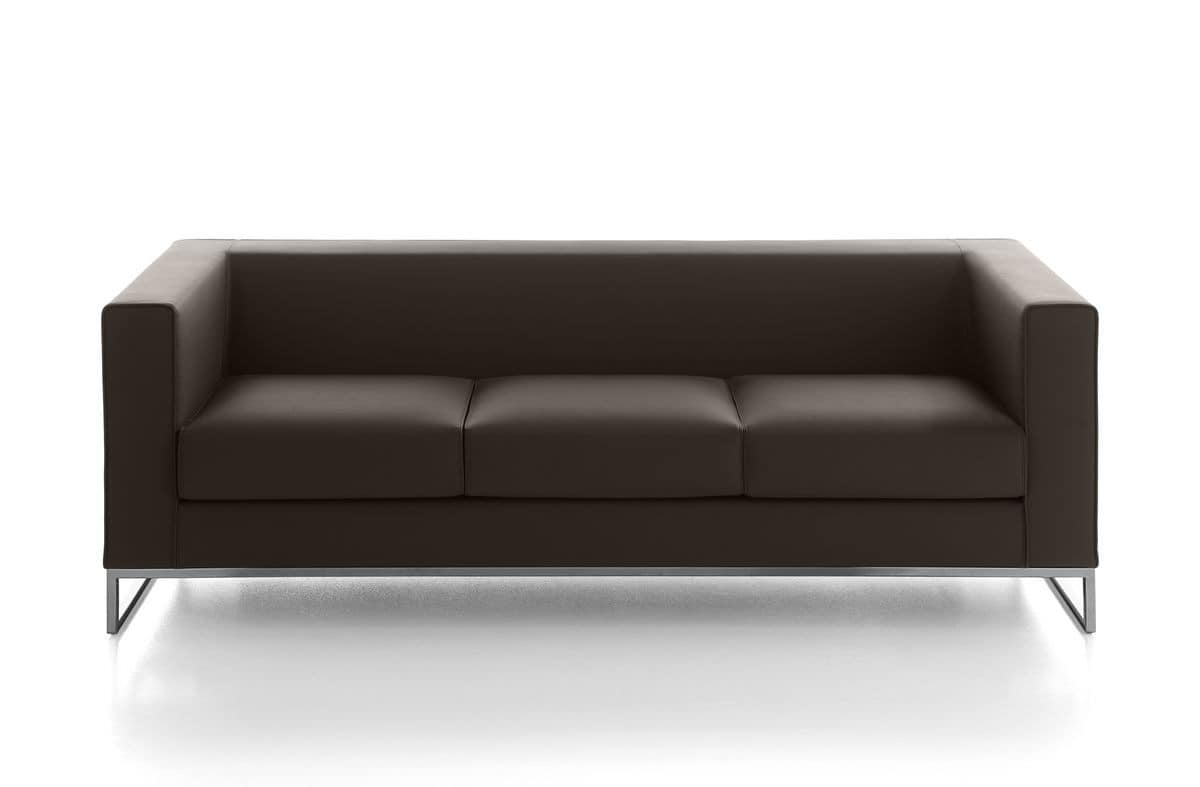 seats sofas and small sofas for waiting areas or office modern squared
