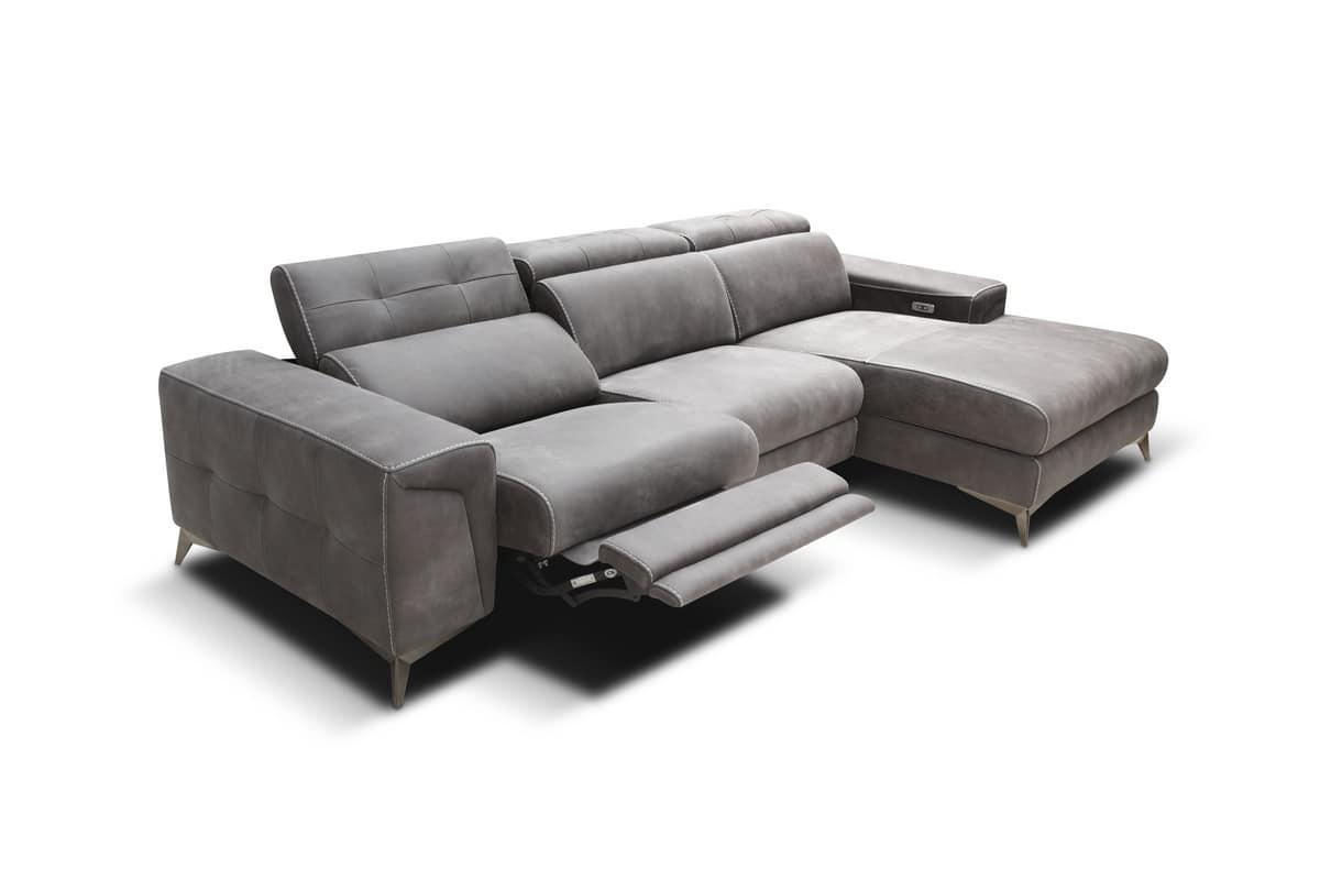 elektrisch verstellbare sofas leder sofa elektrisch. Black Bedroom Furniture Sets. Home Design Ideas