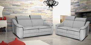 Perla, Sofa with reclining headrest