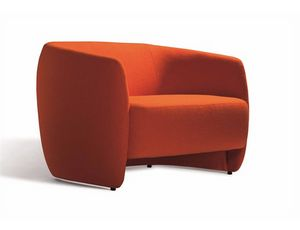 Plum 560S, Modern sofa with rounded shapes