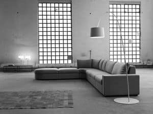 Picture of Sander, elegant sofa