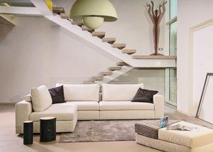Sandy, Sofa with Memory Form padding, modular
