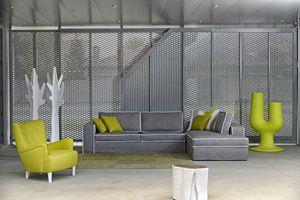 Saturno, Modular sofa, in removable fabric