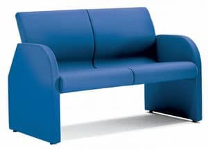 SEDOFF ONE 402, Fully upholstered sofa with steel frame