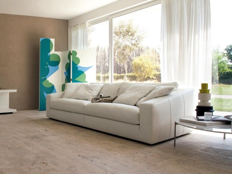 Modular system of sofas, soft and deep seat  IDFdesign