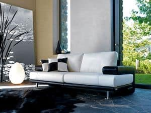 Picture of Yuko A14, elegant sofas