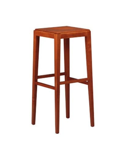 252, Beech stool, resistant, for cocktail bar