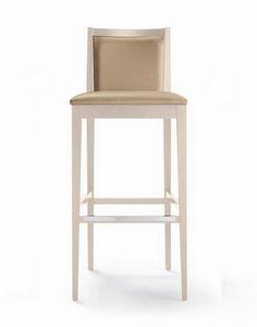 ER 440042, Modern stool in beech wood