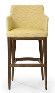 Katel stool ARMS, Modern stool with armrests
