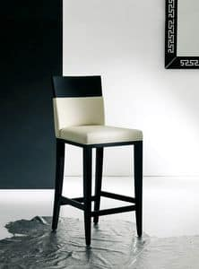 Picture of LEIN stool 8428B, wooden barstool