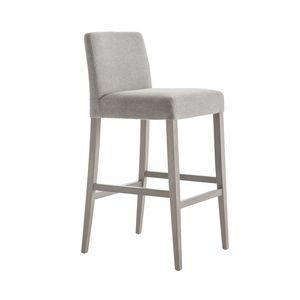 MP49SI, Upholstered modern stool