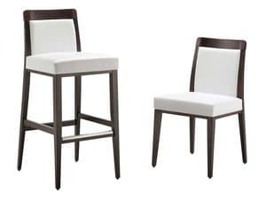 Picture of SG 047 ei, barstool with modern lines