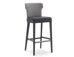 Tilly-SG, Stool with backrest with a particular shape