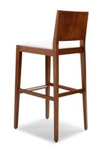 Picture of TONI 473 CI, durable wooden barstools