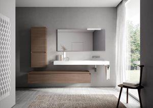 Cubik comp.17, Modular bathroom furnishing system
