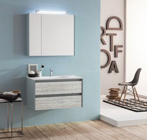 Kami comp.07, Modular and space-saving bathroom cabinet