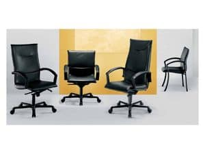 Picture of Attender, padded office chair