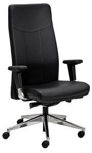 Oxford tall, Office armchair with adjustable seat and backrest