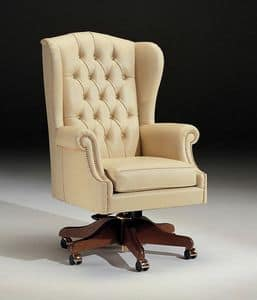 Picture of Poltrona Manoce 6, armchair with tall backrest