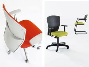 Picture of Calibra Light > operator, office chair with adjustable armrests