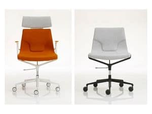 Picture of Elle 01, office chairs with castors