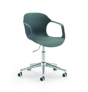 Jim 853 G0, Home office chair with pvc shell