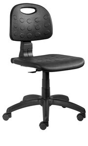 Labor PU chair CPM, Chair on wheels, for desk