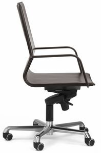 Picture of Lybra swivel high chair with armrests 10.0171, directional office chairs