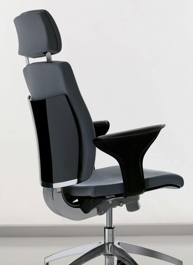 office task chair with adjustable lumbar support idfdesign. Black Bedroom Furniture Sets. Home Design Ideas