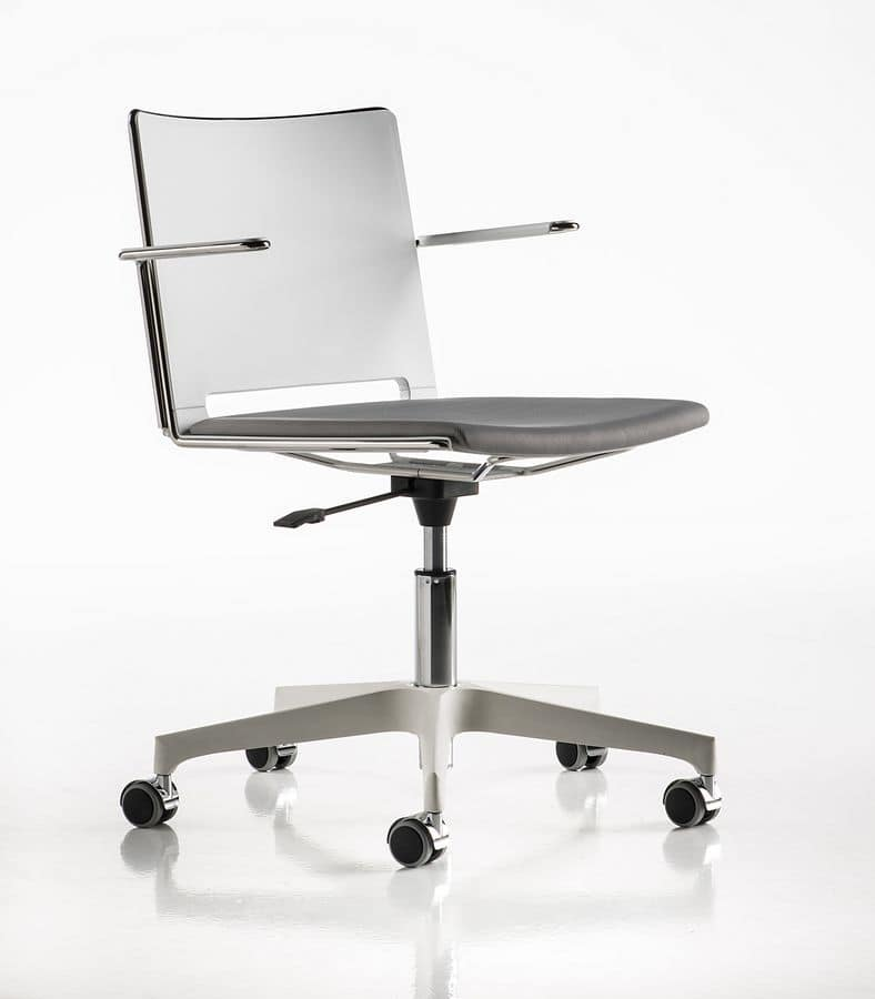 Slim Gas Chair Ideal For Meeting Rooms And As Desk Bedrooms