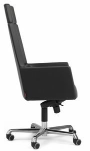 Picture of Web armchair president with headrest 10.0114, metal office chair
