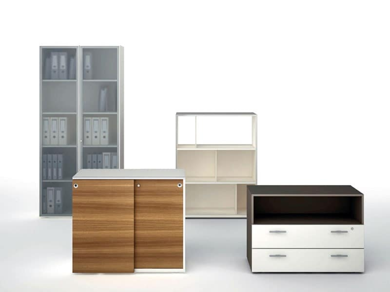 multipurpose modular drawers for computer area idfdesign