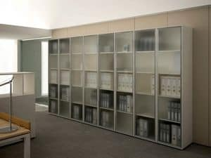 Picture of X-case office storage unit, suitable for directing area