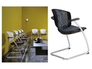Picture of Easy > version EASYRETE, chair with metal frame