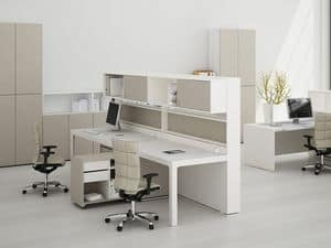 Picture of Acustic Wall task desk, suitable for task office