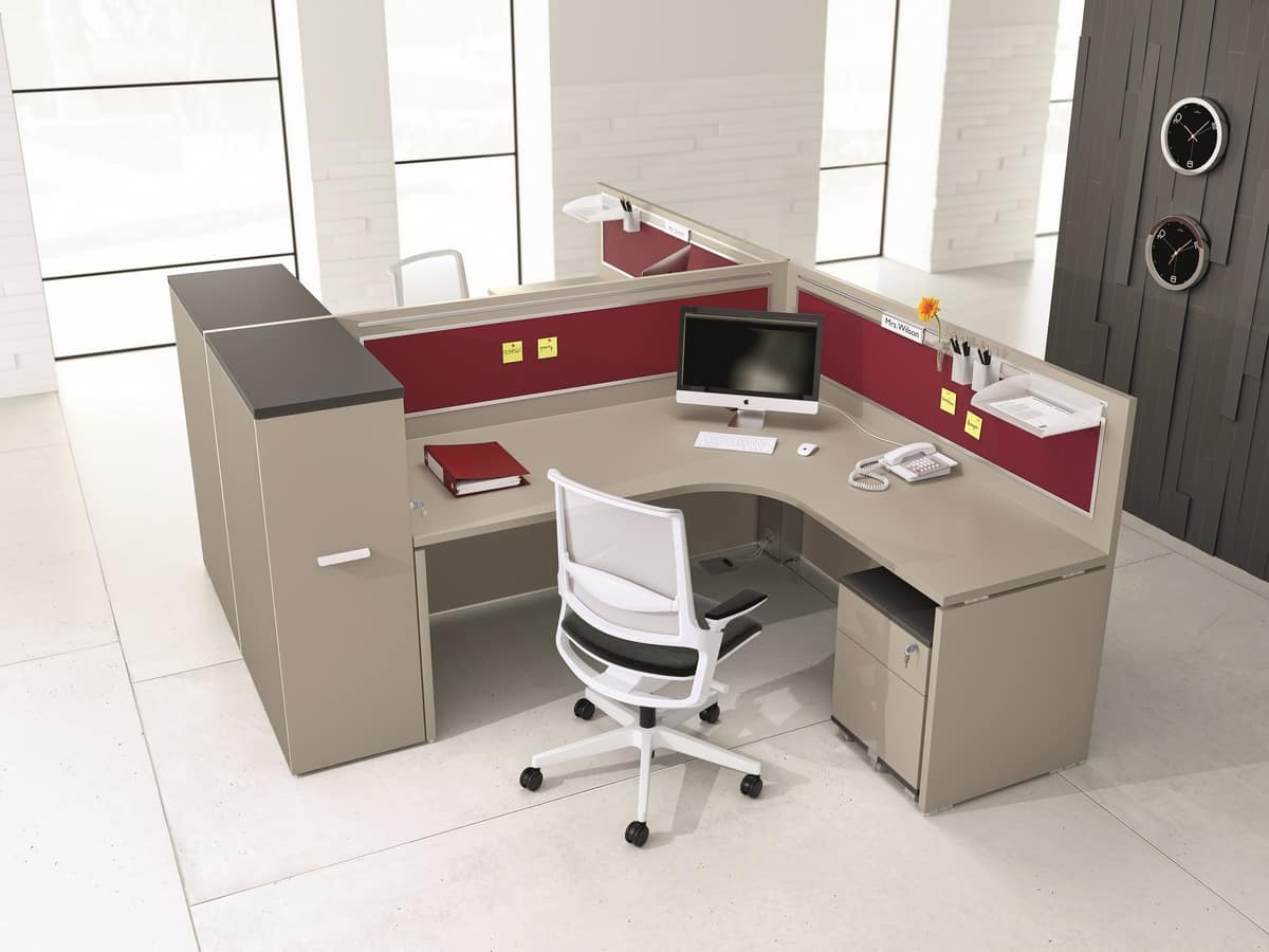 Modular Structure For Offices Various Finishes And