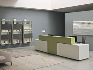Picture of Bridge reception counter, suitable for working area
