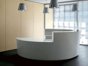 Picture of Cigno reception counter, modular office systems