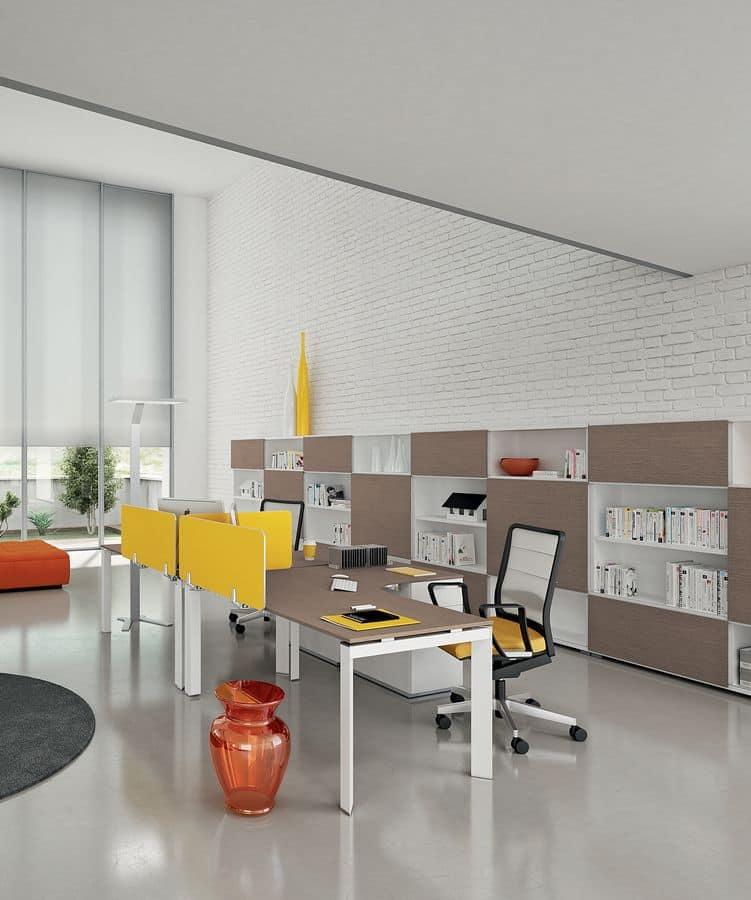 Dv801 entity 9 workstations for modern office idfdesign for Della valentina office